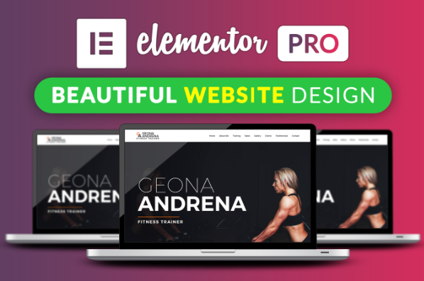 I Will Design Your Website or Landing Page Using Elementor Pro