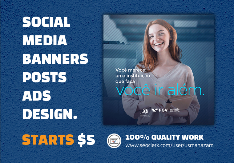 I will design Social Media Posts,  Banners,  Advertisement Ads