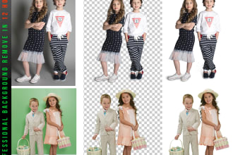 I will do photos background removal with in 3 hours