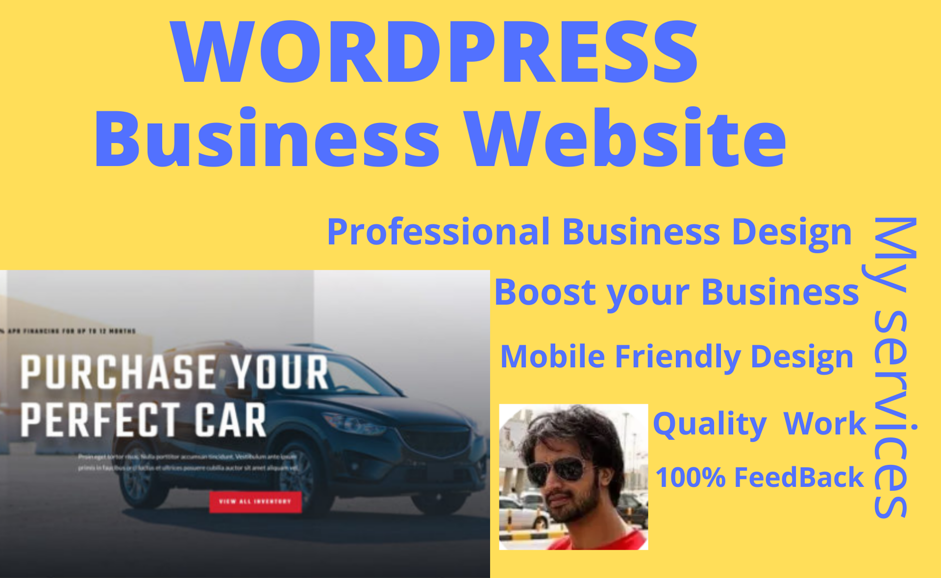 I will create a Professional Business Website in Wordpress with responsive buinesses design