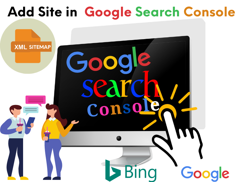 I will add your Site or Blog in Google Search Console and Bing webmasters