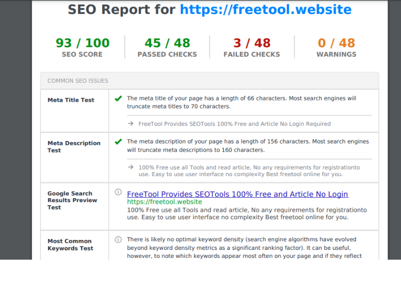 create professional SEO audit report within 24 hours