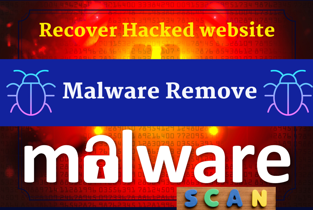 Remove Malware from Wordpress or Scan and Secure Website,  recover hacked website,  vulgarity remover