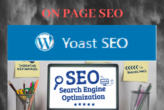 wordpress on page seo optimization using yoast plugin
