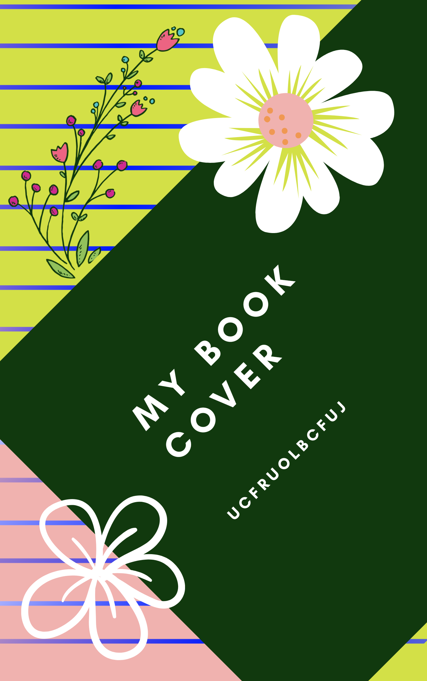 I will create beautifull book cover just for you