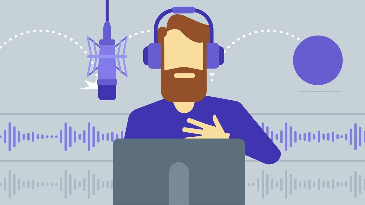 We deliver a great voice over,  with on time work delivery
