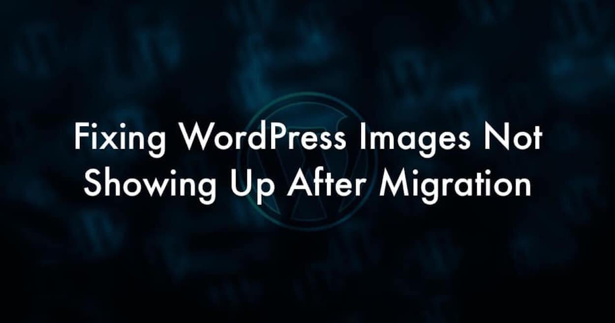 I'll Fix broken image And Internal Linking Issue after a Wordpress URL Change
