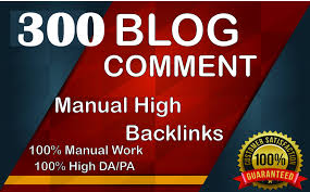 I will do 300 dofollow blogcomment backlinks