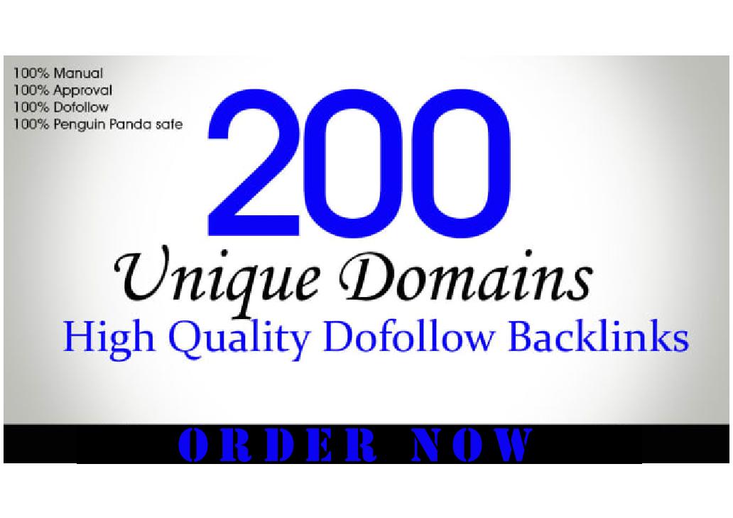 I Will Do 200 Unique Domain Dofollow Blogcomment Backlinks