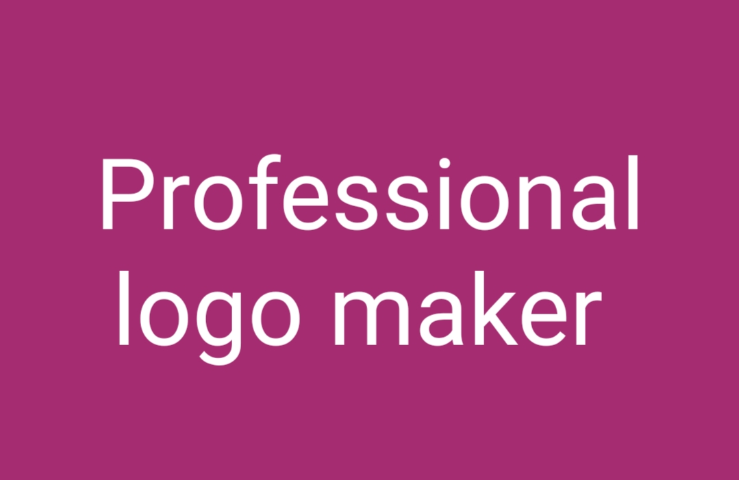 I am Professional logo maker and I am provide by time to time work