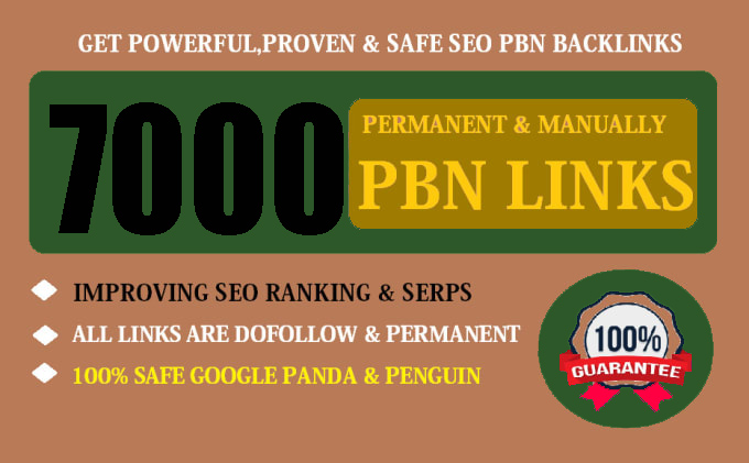 Buy Extream 7000 Permanent PBN Backlink with High DA/PA CF/TF on your Homepage with unique Website