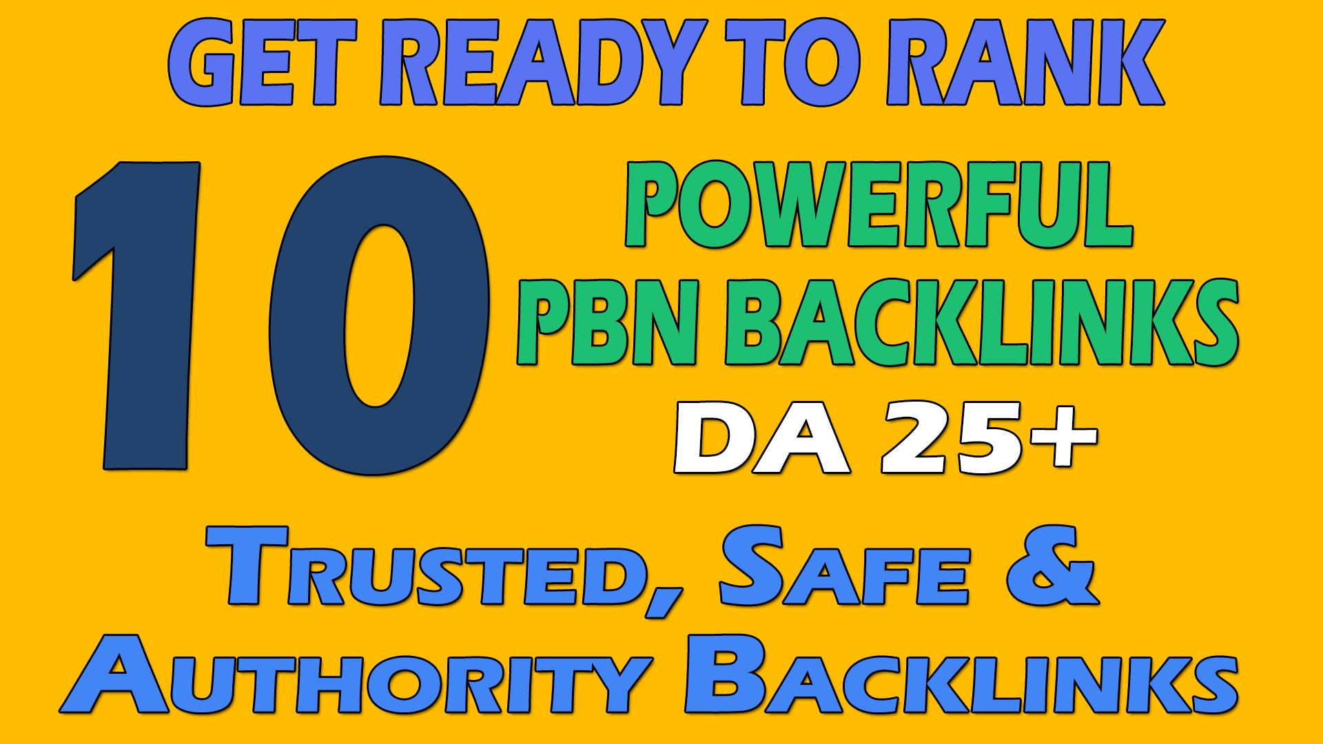 make 5 permanent homepage PBN Backlinks