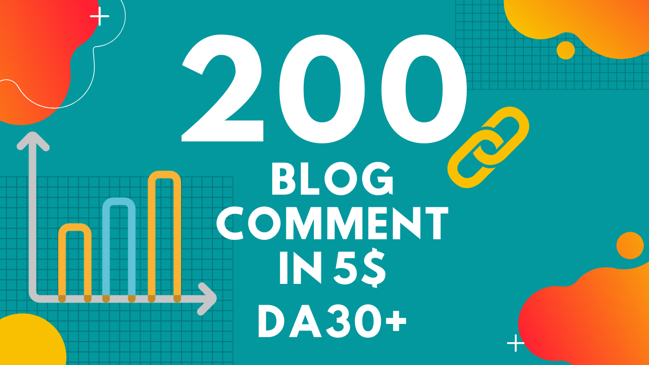 I will do professionally 200 dofollow blog comments low obl High quality backlinks
