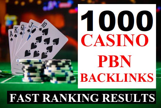 Rank your website 1000 Casino Poker slots Gambling UFABET Related High DA 50+ PBN Backlinks