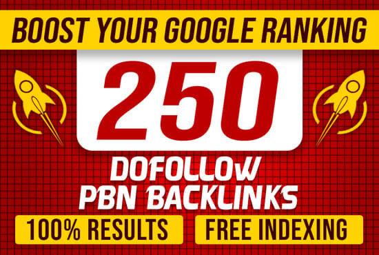 Rank your website 250 PBN DA 50+ High quality DO follow permeant backlinks
