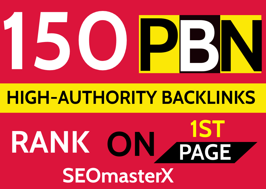 Create PBN 150 Permanent DA 30+ Homepage high quality dofollow Backlink