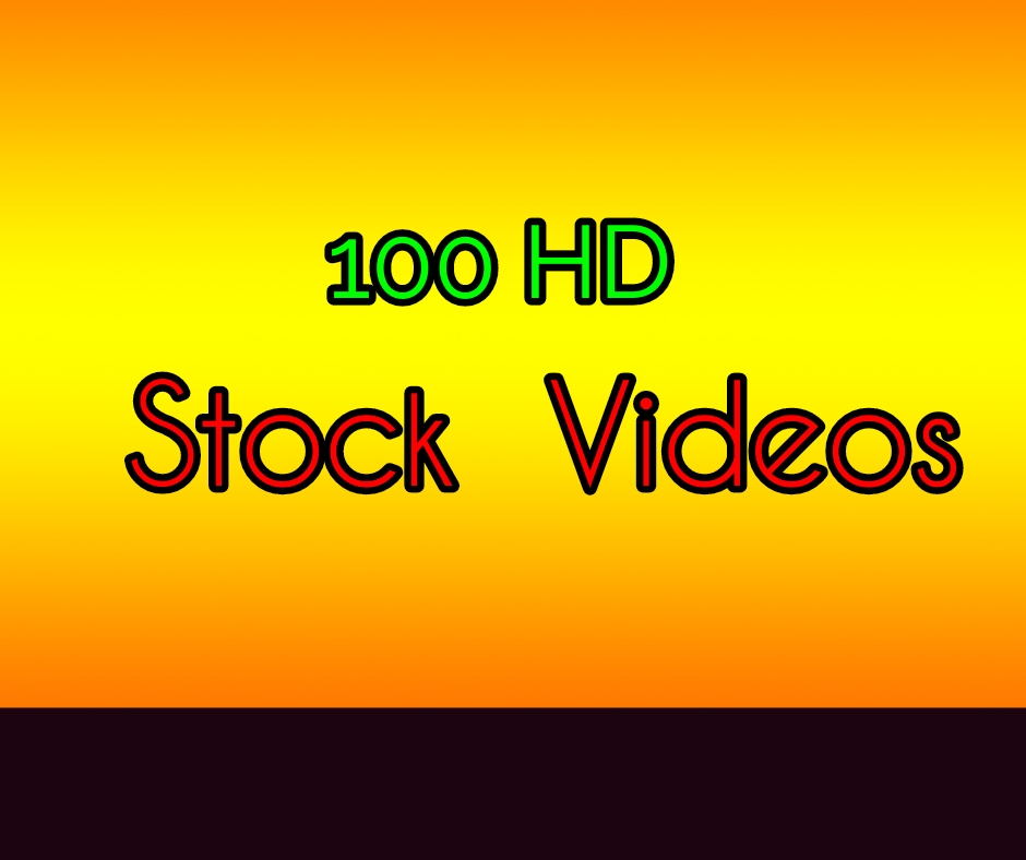 Get 100 stock videos for your projects