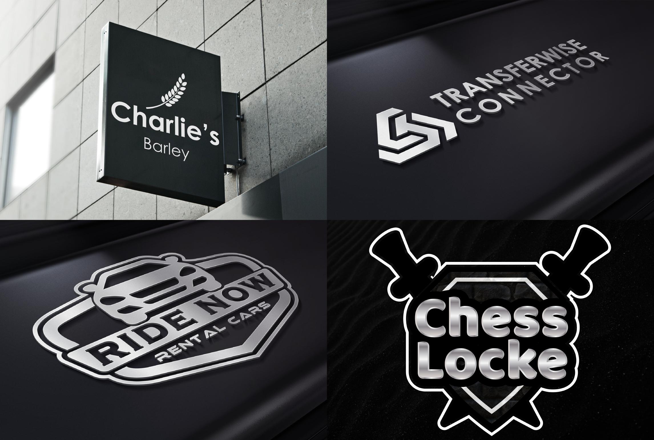I will do Creative and modern logo design
