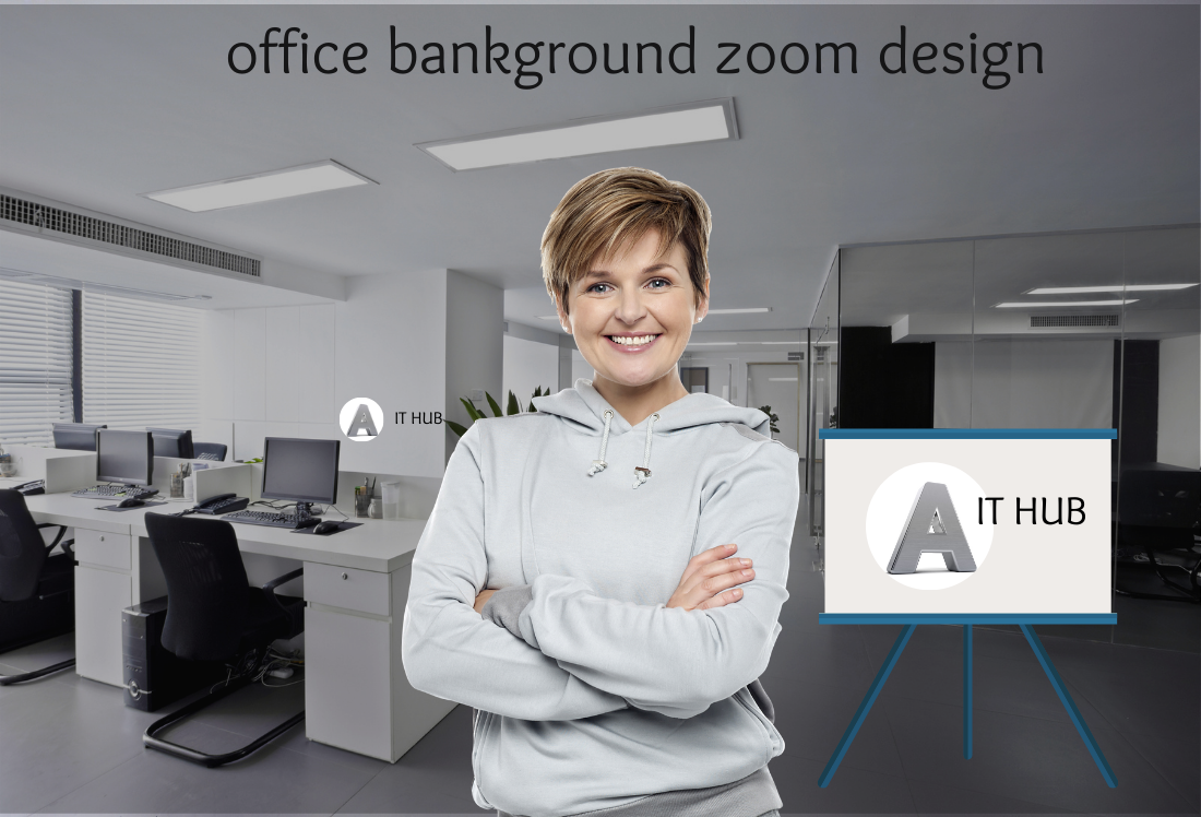 I will design customized zoom virtual backgrounds for you
