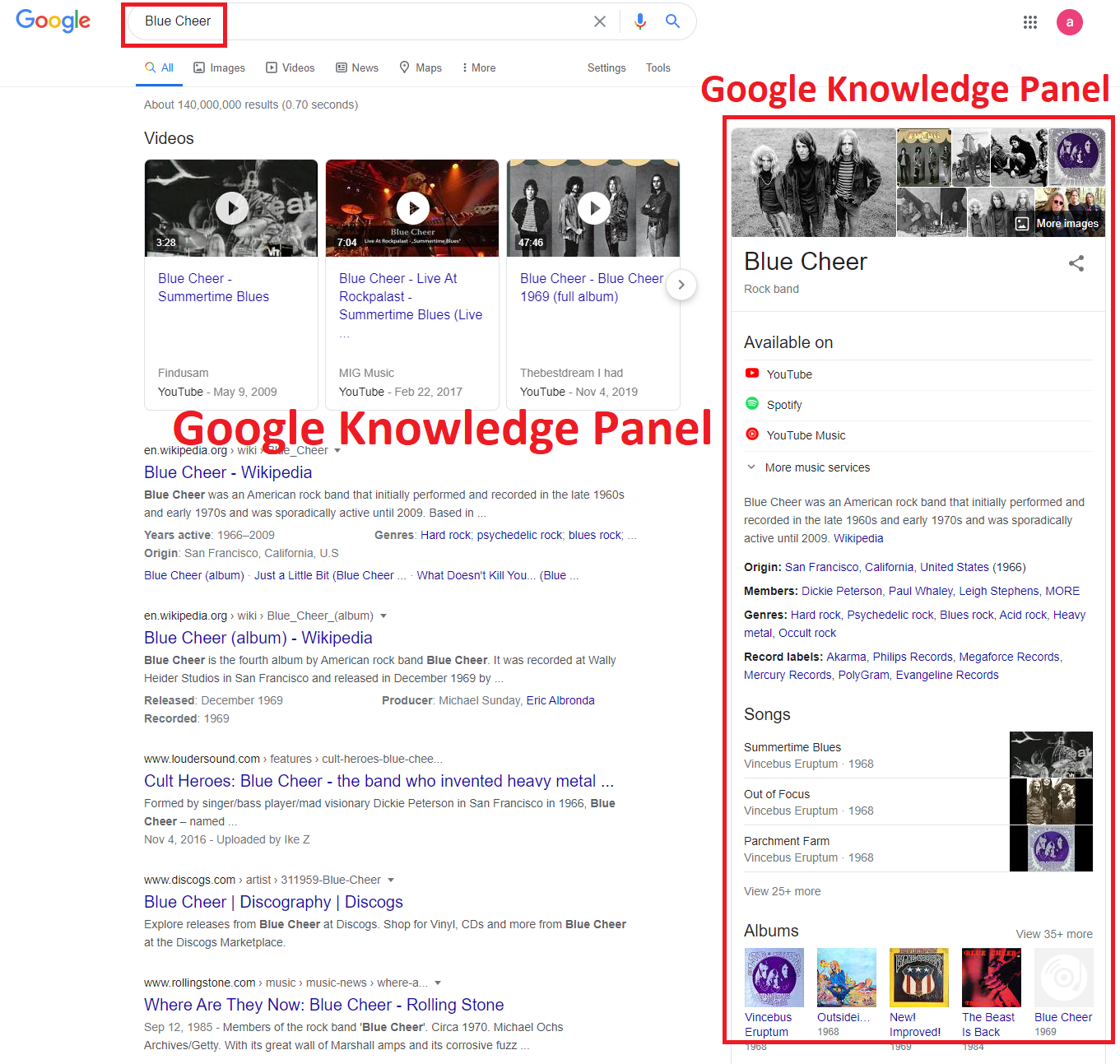 I Will create Google Knowledge Panel for Musician