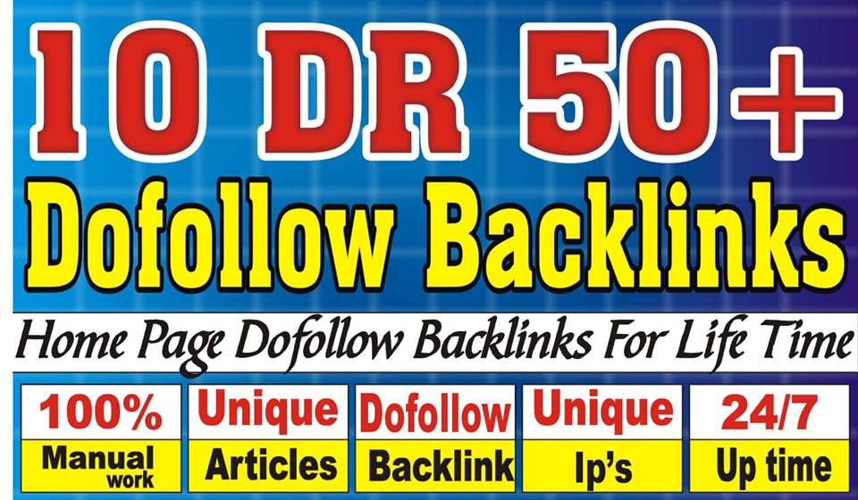 I will Make Ahrefs DR 50+ PBN Backlinks