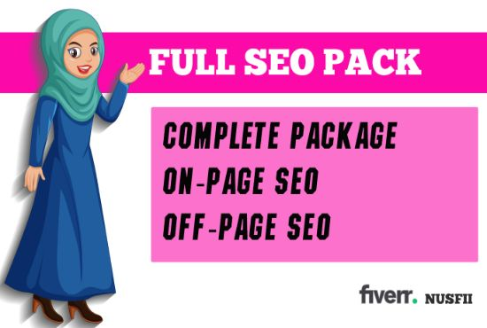 Complete Monthly SEO Package With On Page,  Off Page SEO For Website And Gmb Ranking