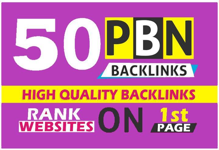 50 High PBN Post TF/CF,  DA 30 &ndash 30+ PBN Backlink &ndash Permanent and Manual