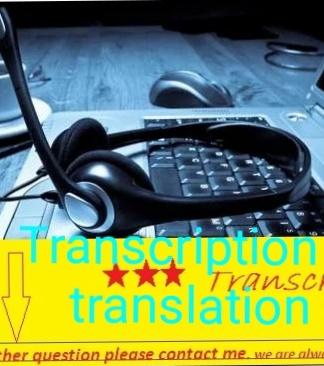 I will do translation ENGLISH to many other language