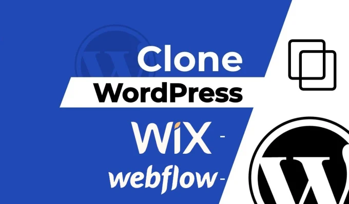 I will clone or duplicate to any wordpress website