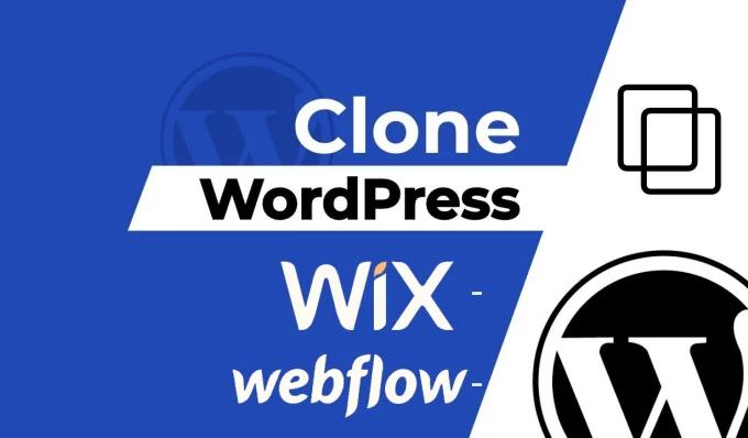 I will clone or duplicate to any wordpress website