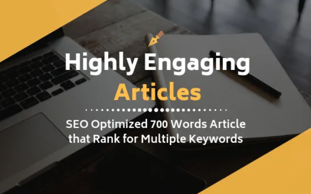 Get 5 Highly Engaging Articles For Your Website or Blog