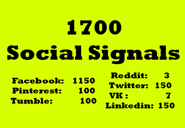Real SEO Social Signals from top PR sites