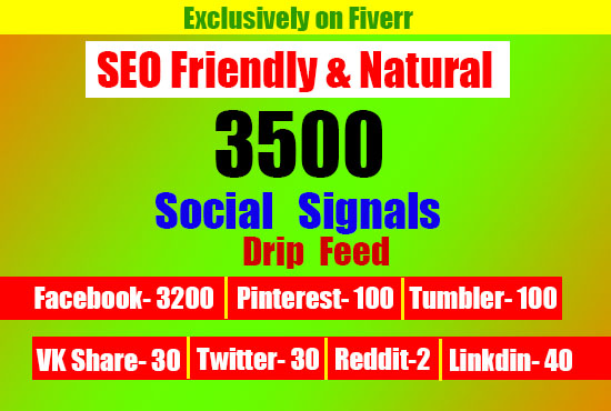 Real SEO Social Signals from top PR Boosting your website and YouTube in Google naturally