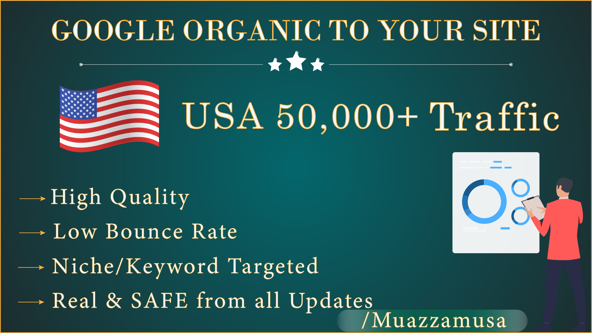 Ranking Booster - 50,000+ SEO Organic Traffic from Google For 30 days