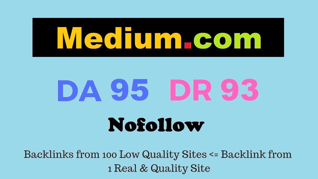 publish your article Medium. com da95