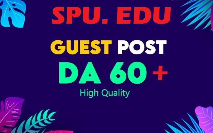 I will publish guest post on spu. edu da89