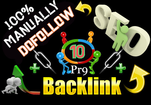 I Will Manually Do 10 Pr9 SEO Authority Dofollow Profile Backlinks