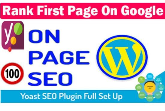 I will do Wordpress On Page SEO with Yoast SEO Plugin