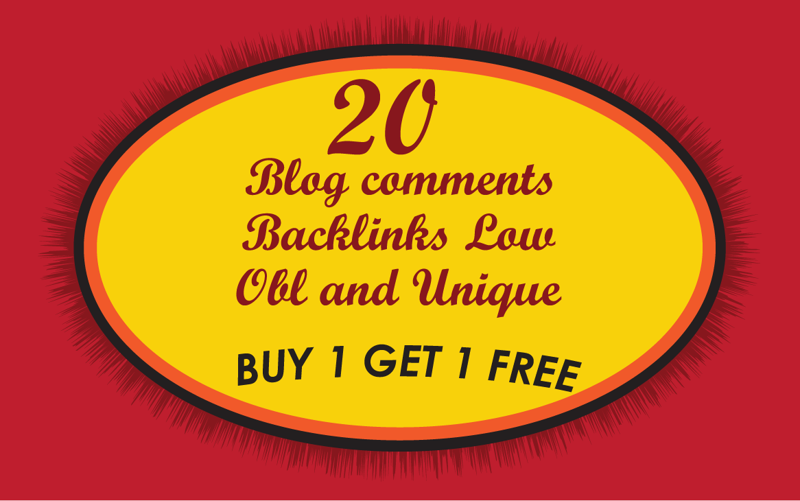 I will Do 20 DOFOLLOW blog comments with HIGH DA PA