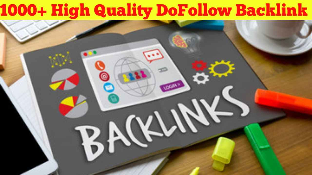 i will do 1000 dofollow high authority backlinks blog comments