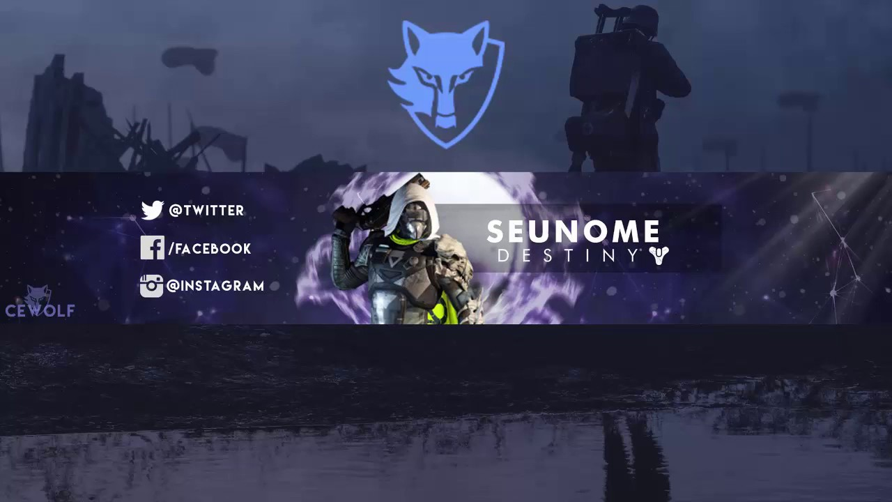 Youtube banner design at a decent price within 24h!!!