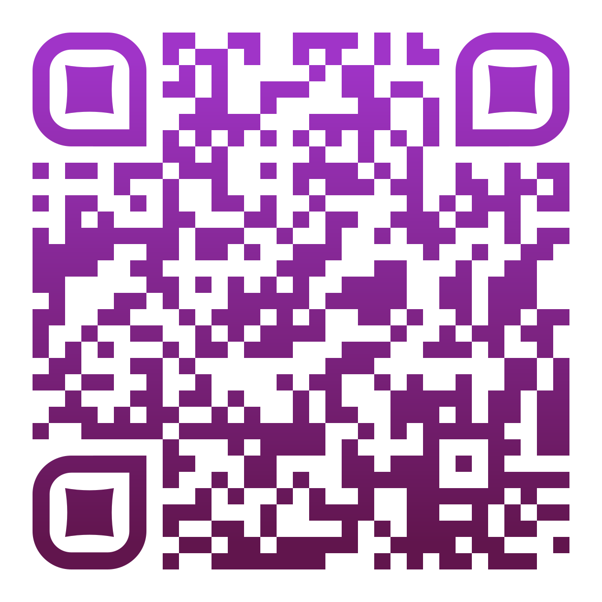 Custom QR code design with logo