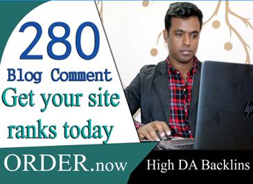 do 20 high quality do follow blog comments backlinks