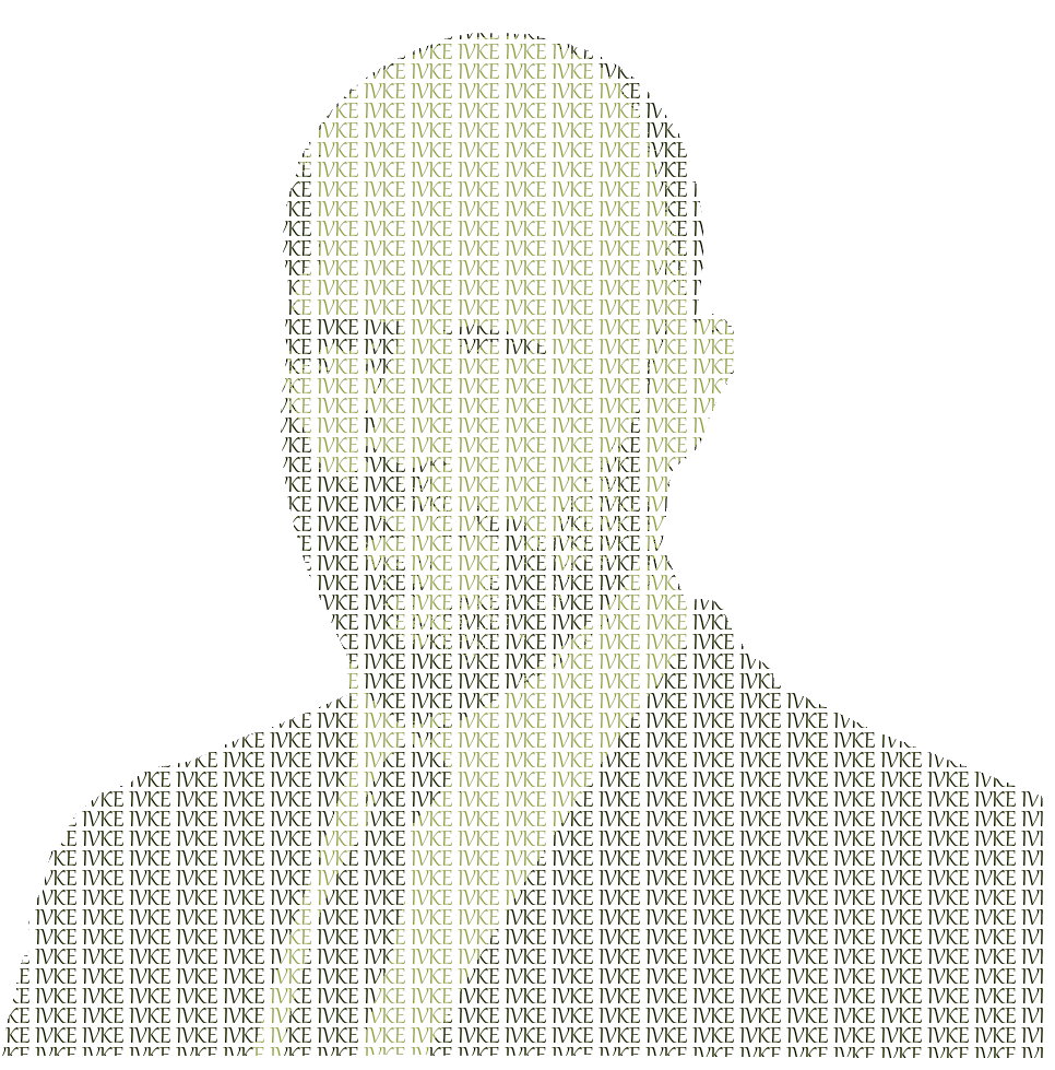 Text portrait of your pictures