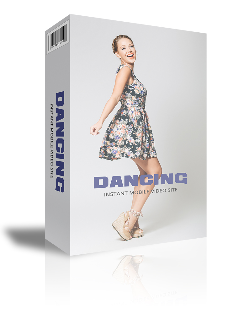 Instantly build a mobile-friendly video site all about dancing to promote your business on autopilot