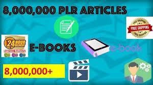 I will give you 8,000,000 plr articles,  1 billion email list,  6000 ebooks