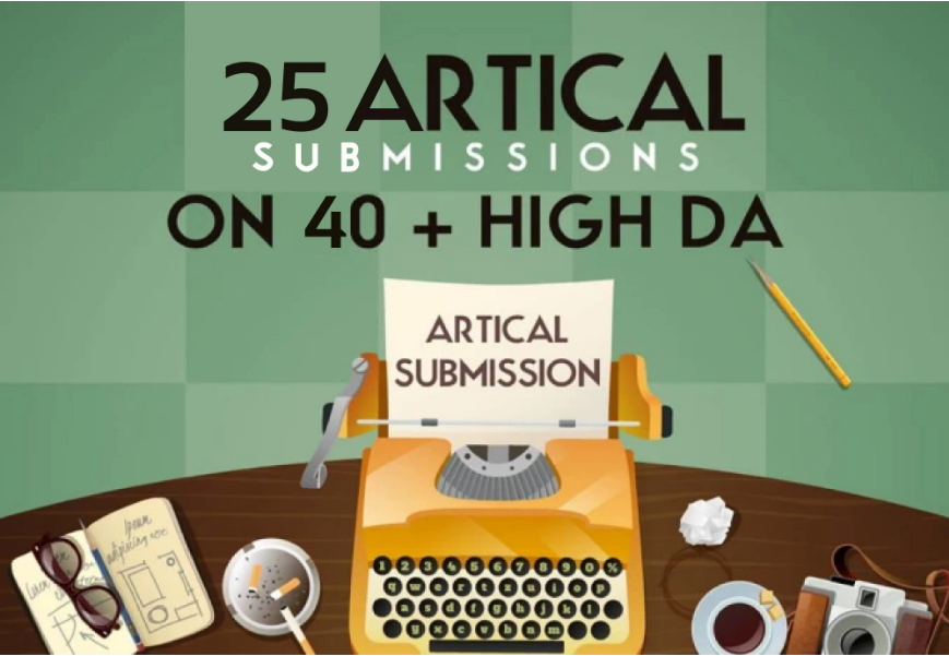 I will do 25 dofollow contextual article submission in SEO backlinks
