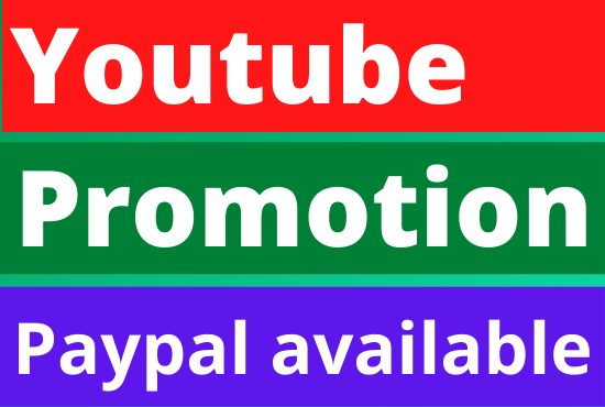 YouTube fast organic video promotion