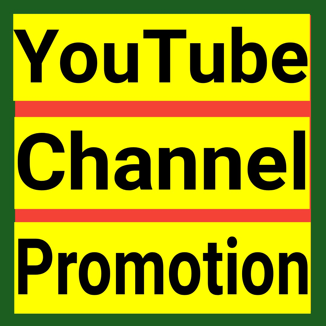 YouTube promotion via active and real human users within 2-5 hours