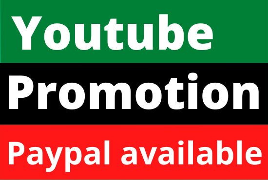 YouTube real and fast organic promotion
